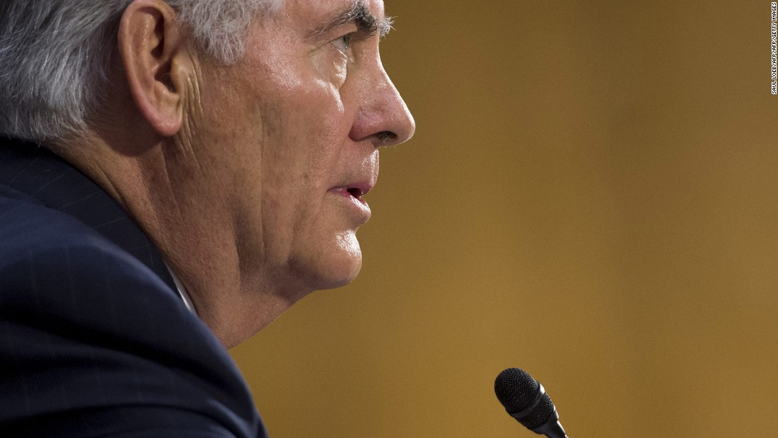 Tillerson arranges for face-off with Beijing over South China Sea