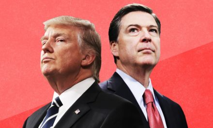Trump currently encounters Comey's ethical attack