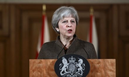 May Defends Syria Airstrikes Without Parliamentary Vote