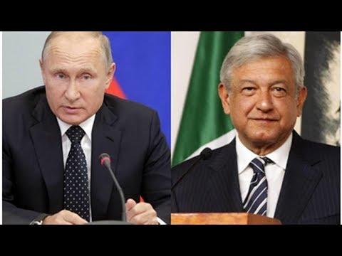 Putin y López Obrador podrían reunirse en México o en Argentina