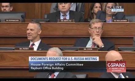 House Republicans Vote Down Dem Effort To Release Trump-PutinSummit Docs To Congress