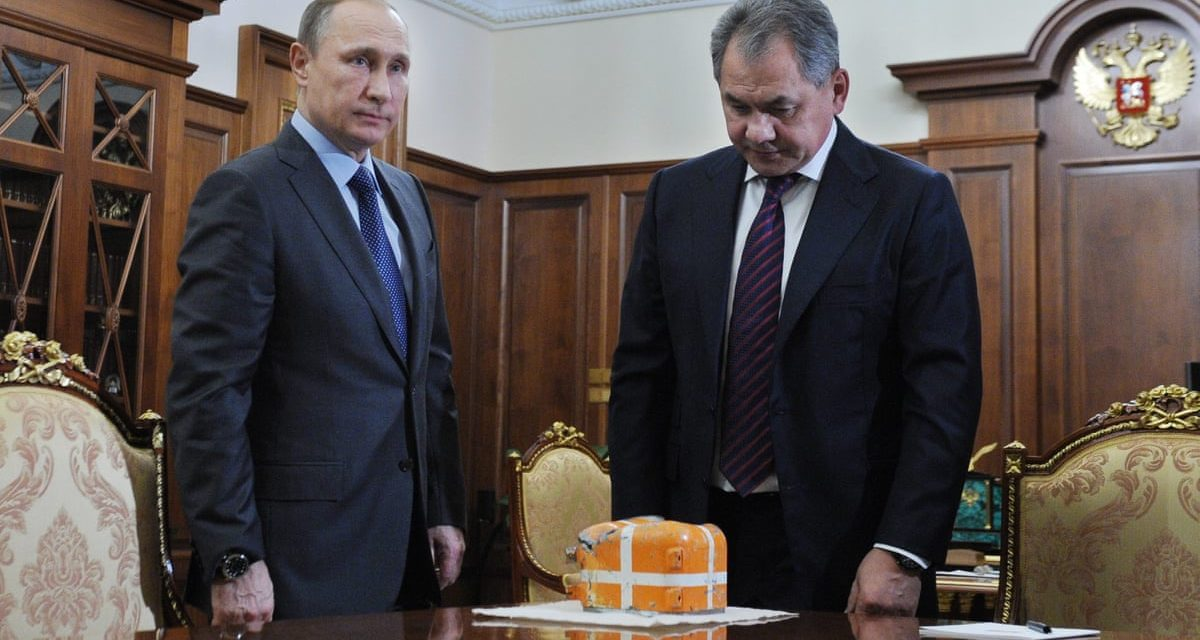 Putin: 'international professionals' will certainly take a look at black box from aircraft rejected by Turkey