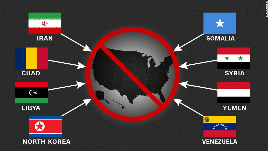 5 points for December 5: Travelling restriction, Moore, Manafort, Yemen, web nonpartisanship