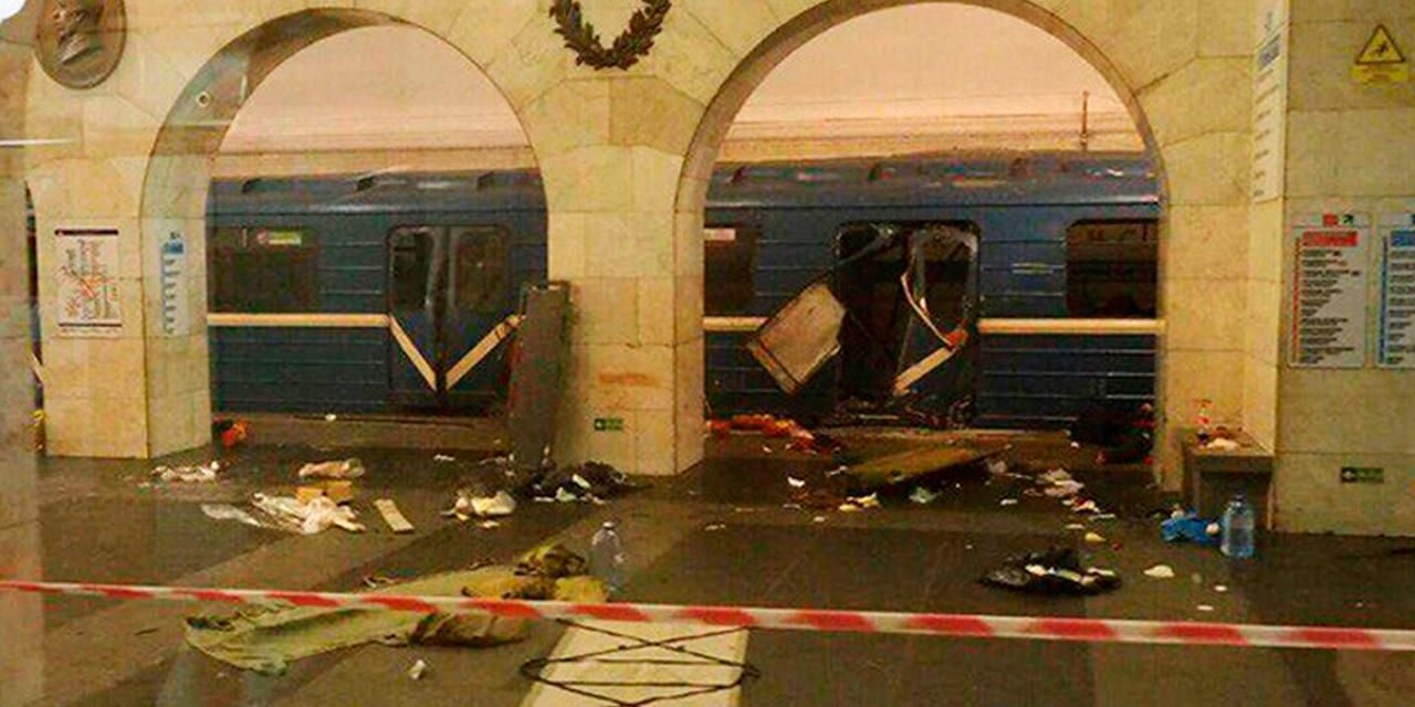 St. Petersburg train blast: One enemy thought to have actually grown 2 bombs
