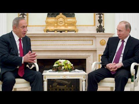 Russia's Putin And Israel's Netanyahu May Speak By Phone Tuesday