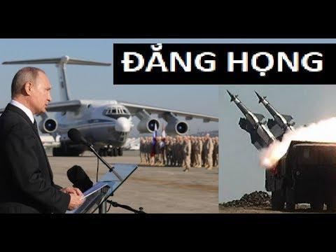Putin ngọng lưỡi vì máy belvedere Nga bị đồng minh Syria bắn hạ