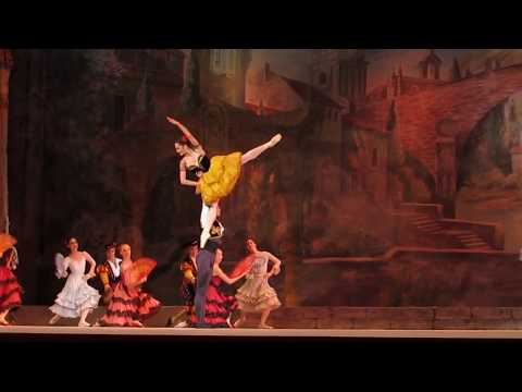 """DonQuixote"". The 6th International Ballet Festival in theKremlin ""Дон Кихот""."
