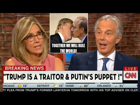 Camerota SH0CKED via Tony Blair EXPOSES The Truth Trump is HELPING Putin To DESTR0Y Our elitist.S Country