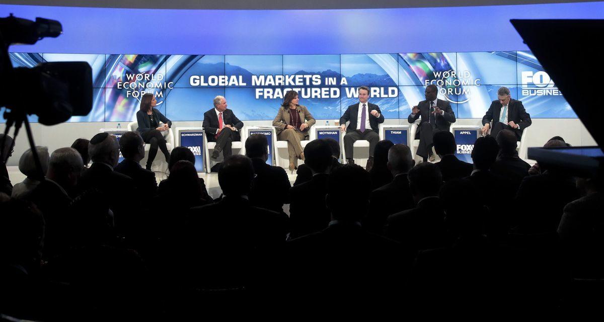 Macron Says 'Franceis Back' as Trump Debut Nears: Davos Update