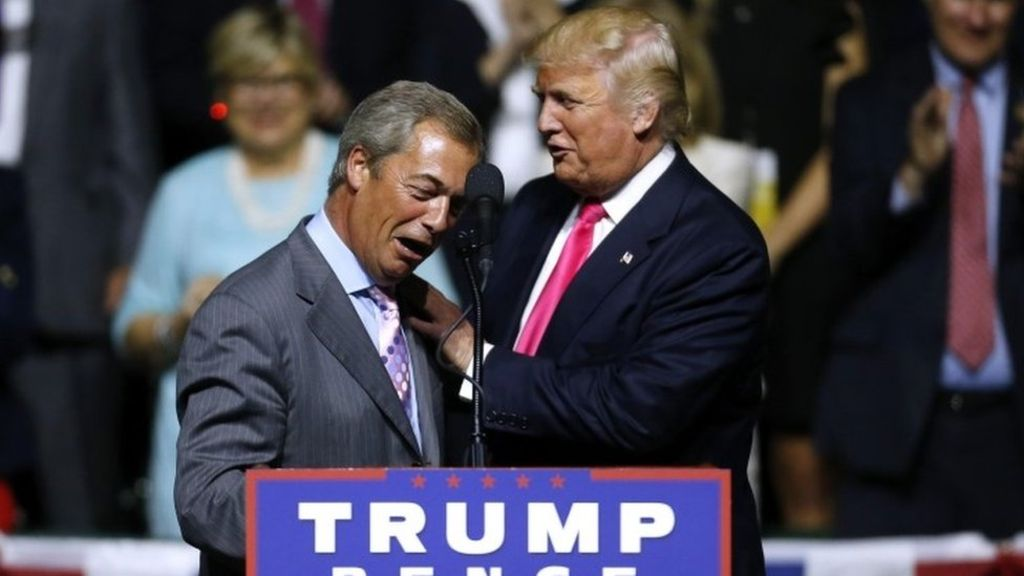 Nigel Farage 'questions' FBI Trump probe case – BBC News