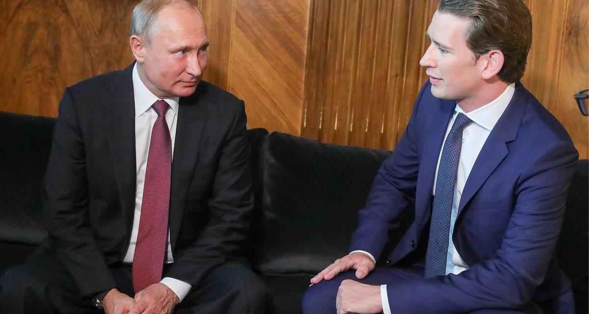 Putin to hold talks with Austria's Kurz inSt Petersburg on October 3 – TASS