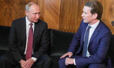 Putin to hold talks with Austria's Kurz inSt Petersburg on October 3 – TASS