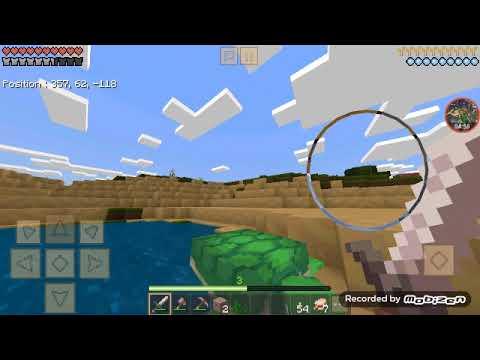 Partie3 Minecraft portable. Je me suis perdu dans ce Putin de desert