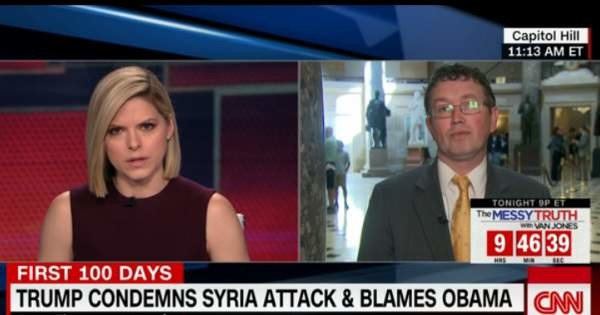 GOPRep Thomas Massie stuns with 'disgraceful' statements on Syria, Assad