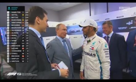 F1 2018 Russian MD Vladimir Putin talks as far as Lewis Hamilton & Valtteri Bottas & Sebastian Vettel