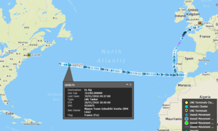 Tanker With Russian Gas for Boston Makes Mid-AtlanticU-Turn