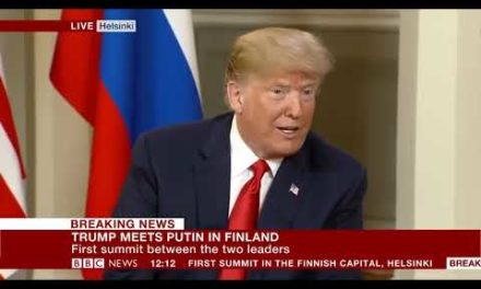 DAMAGING NEWS Trump and also Putin conference starts BBC News