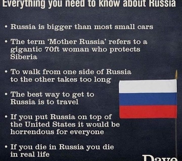 True truths regarding Russia