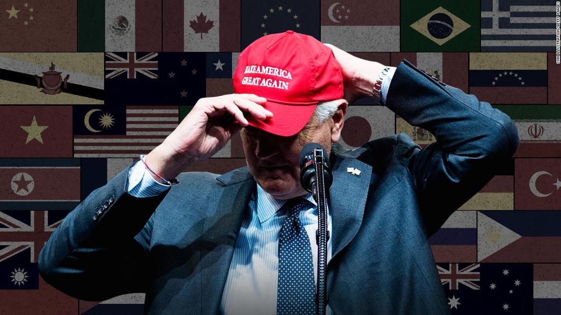 Trump's brand-new globe order