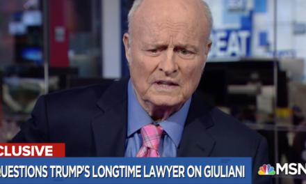Longtime Trump Lawyer Slams Giuliani As 'PolarizingFigure' Who Shouldn' t Deal With Mueller