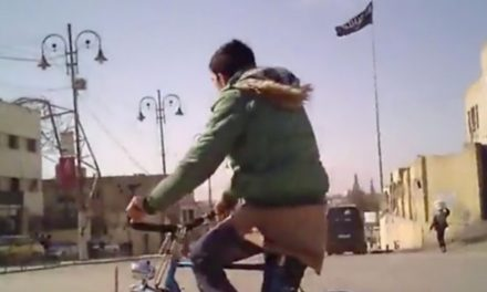 Raqqa: Secret video clip reveals ISIS shedding chokehold on its 'resources'