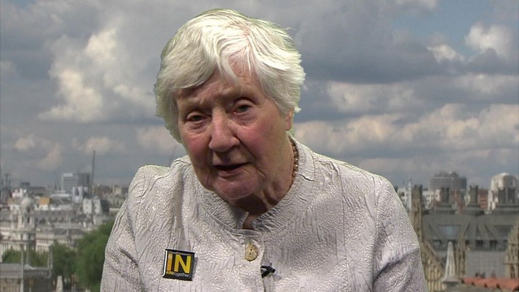 EU discussion controlled by guys, Shirley Williams states – BBC News