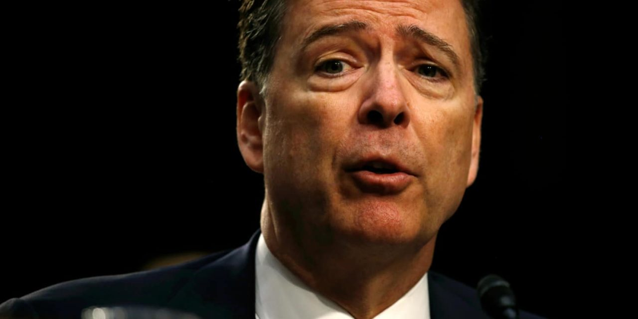 Comey: Trump Asked Me to Investigate Pee Tape Allegations