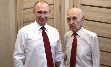 Putin visits aforesaid KGB Big Brother accidental evening apropos of Victory Day