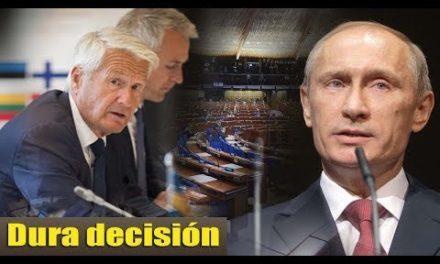 La dura decisión del Kremlin conmocionó a Europa