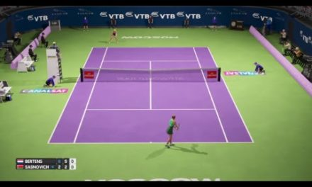 Kiki Bertens vs Sasnovich – Live Stream Kremlin Cup Moscow 2018 Round 2 – AO Tennis PS4 Gameplay