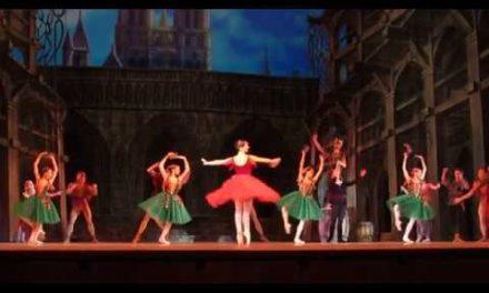 """Esmeralda"". 7th BalletFestival Kremlin ballet. ""cepaa"". peec ae."