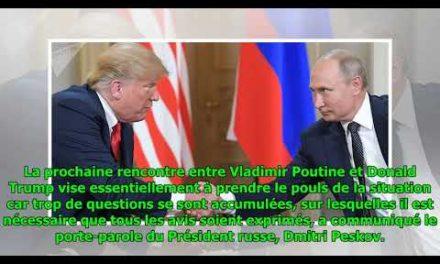Le Kremlin dévoile l'objectif primary de la prochaine rencontre Poutine-Trumpà Paris