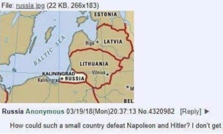 Anon is thrilled by Russia's toughness