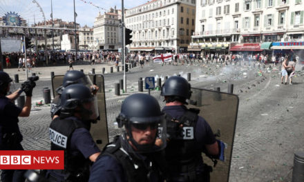 Russian detained over Euro 2016 strike