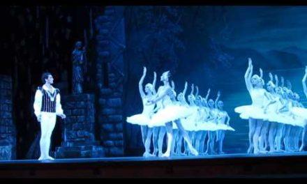 """SwanLake"". 7th BalletFestival Kremlin ballet. ""eeoe oepo"". peec ae."