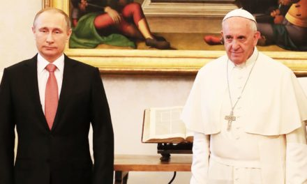 Putins People Claimed Pope Francis Was With Them Supporting Assad. Nope.