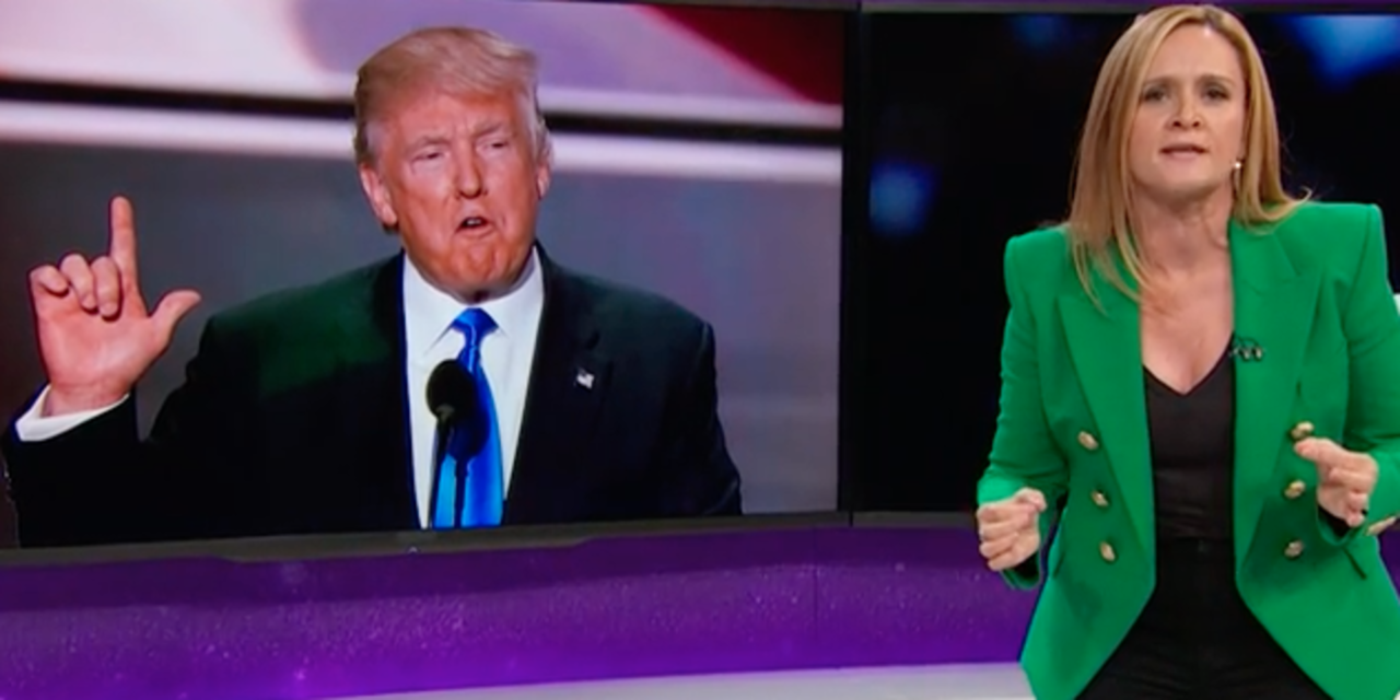Samantha Bee Blasts 'Putin's Sweaty Sack-Cradler' Donald Trump