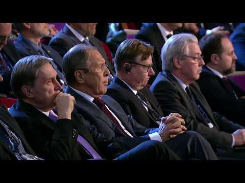 Vladimir Putin's speech at the 'Arctic: Territory of Dialogue' International Arctic Forum