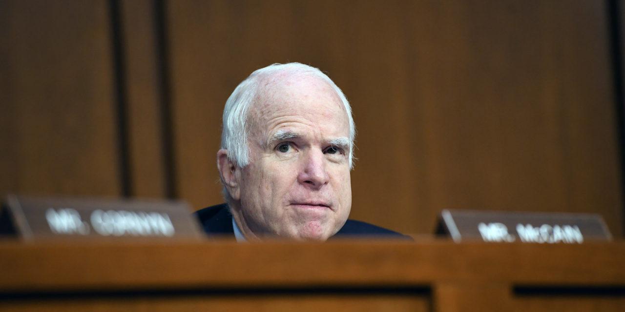Sen. John McCain To Return For Critical Health Care Vote