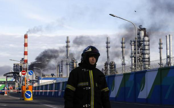 Flame shuts device at Moscow oil refinery – The MediTelegraph