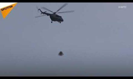 La reason de l'appearing de deux hélicoptères au-dessus du Kremlin déterminée