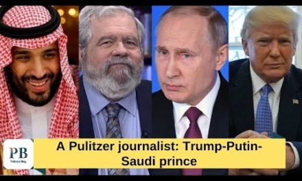 A Pulitzer reporter: Trump maintains obtaining played by Putin as well as the Saudi royal prince, Why?