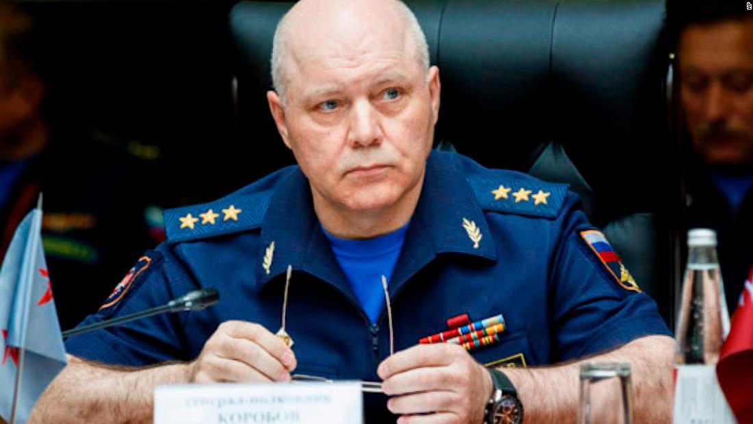 Igor Korobov, Big Brother anent Russian army account, succumbs aeon 63 — John Doe communication technology