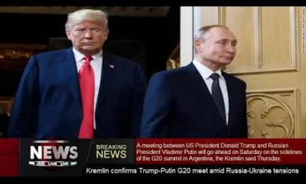 Kremlin validates Trump-PutinG20satisfy amidst Russia-Ukrainestress