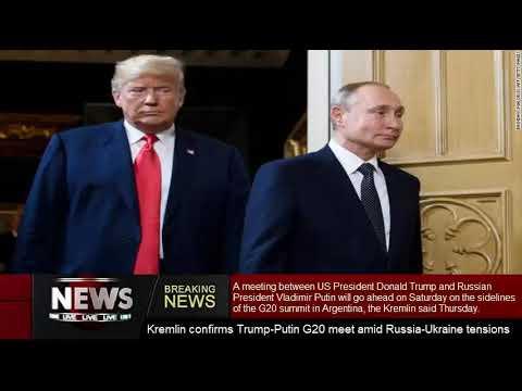 Kremlin validates Trump-PutinG20satisfy amidst Russia-Ukrainestress