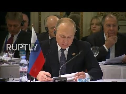 REFEED: Putin provides address at BRICS conference in Buenos Aires