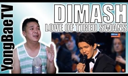 Dimash – The Love of TiredSwans Kremlin|Reaction|YongBaeTV