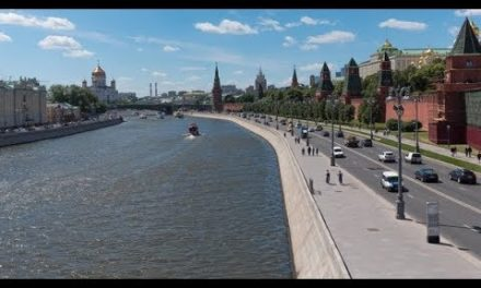 Sunny Summer Day Moscow River Bay Kremlin|Stock Footage – Videohive