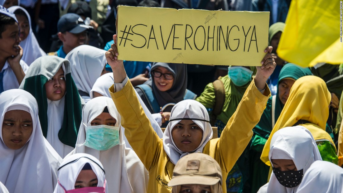 Muslim globe knocks Myanmar's therapy of Rohingya; West reserved