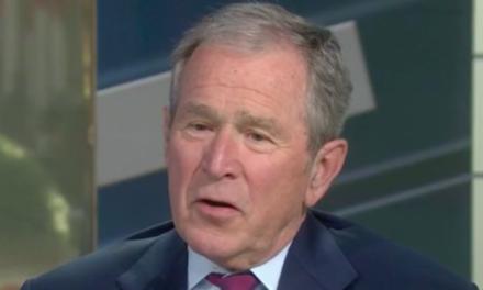 George W. Bush Hurls Shade At Donald Trump